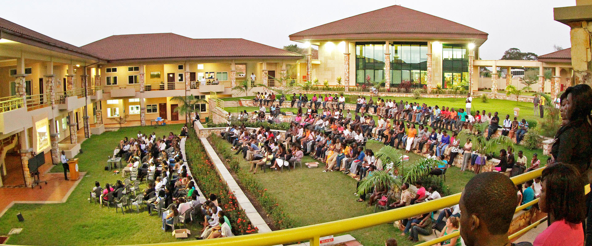 Ashesi campus photo